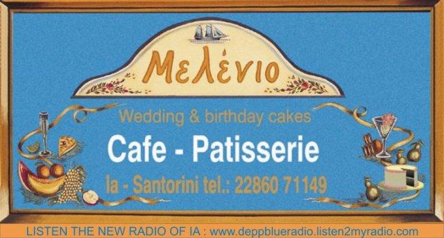 Melenio Cafe Patisserie , Oia - Santorini (Greece)