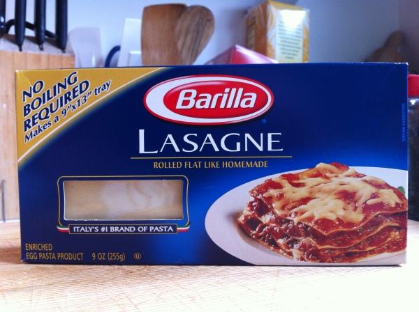 Lasagne Barilla