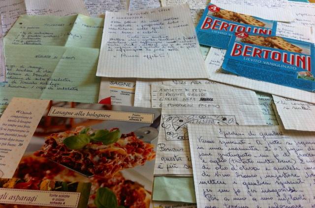 My Grandmas' Handwritten Recipes