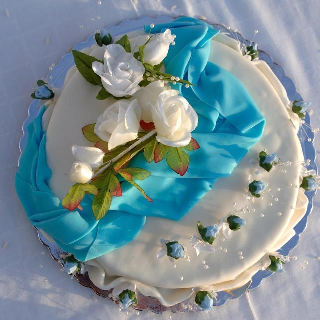 My Wedding Cake , Oia (Greece) April 28th 2007