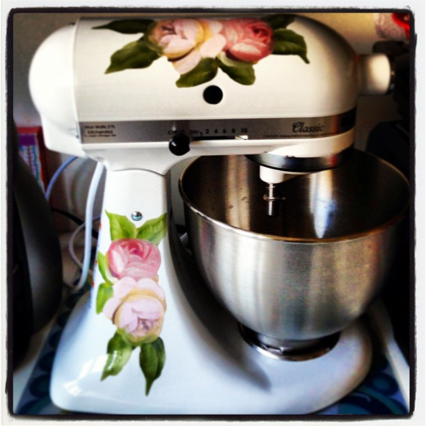 My Lovely Customized Kitchen Aid