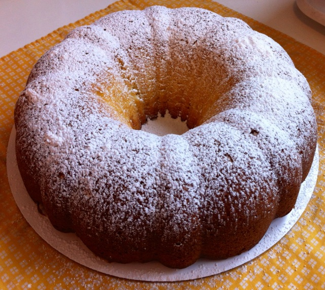 Cream Cheese Bundt Cake