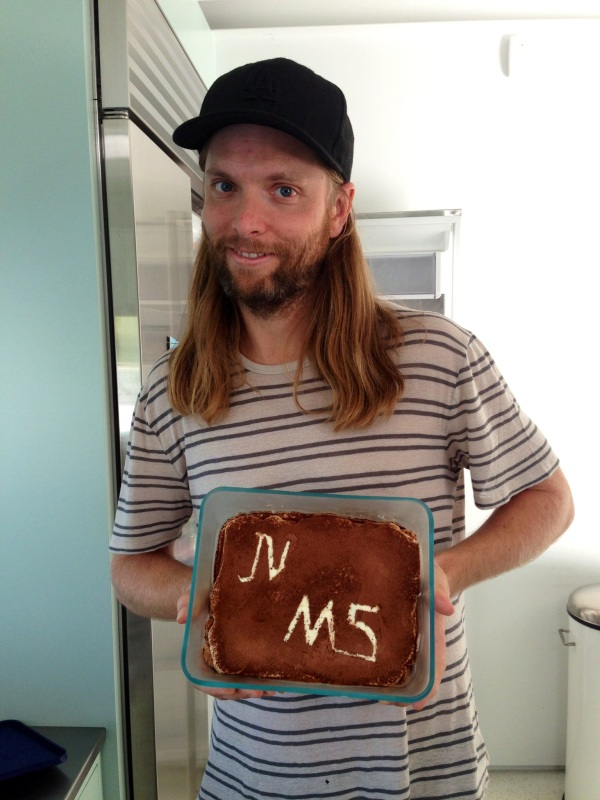Finally My Tiramisu' In The Hand of James Valentine - Maroon 5