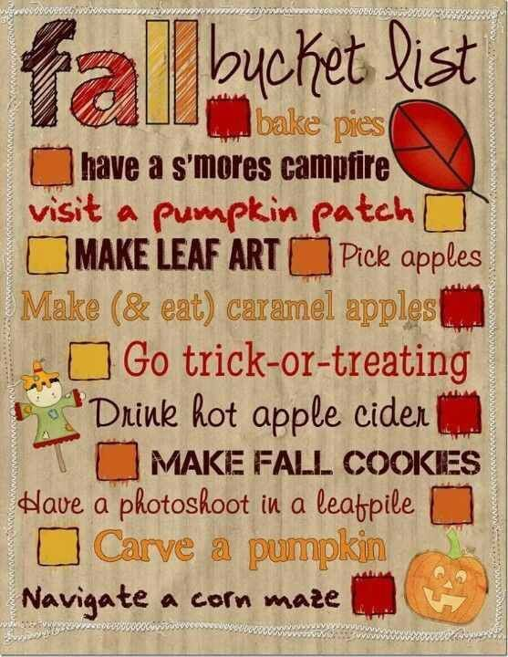 Welcome Fall !!!