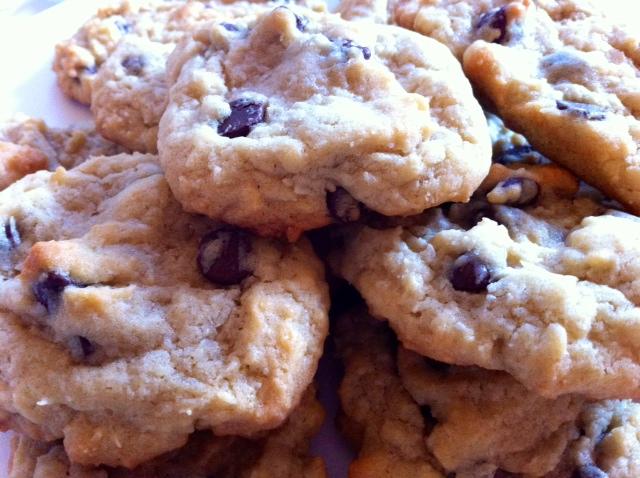 4C Cookies (Coconut Chocolate Chips Cookies)  ;)