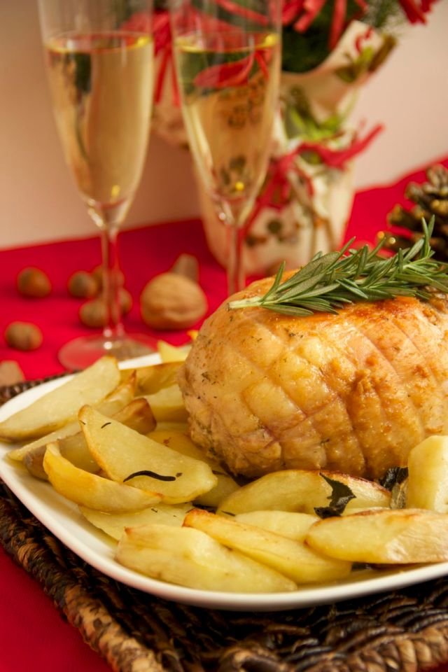 My Family's Christmas Recipes : Arrosto Di Tacchino Ripieno - Stuffed Roast Turkey Breast (Second Course)