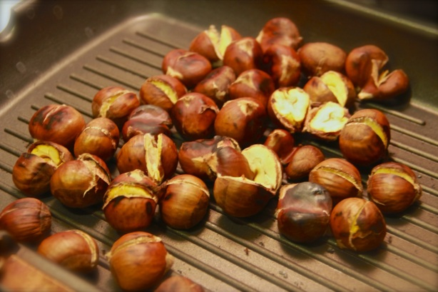 Caldarroste (Roasted Chestnuts)