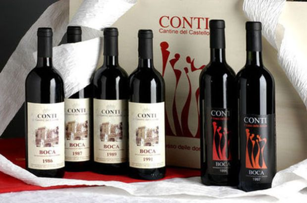 Conti-Cantine Del Castello Wines & Winery (Maggiora, Italy)