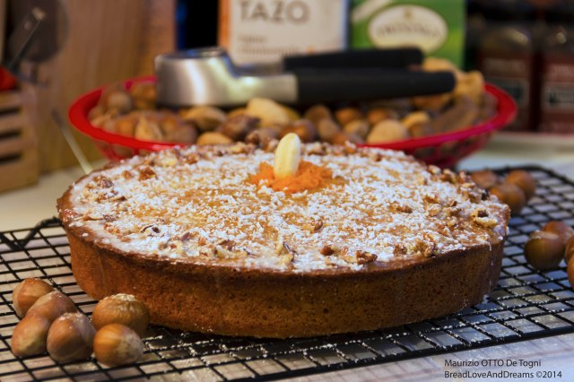 Hazelnut Carrot Cake With Lemon Glaze (Featured On Yummly)