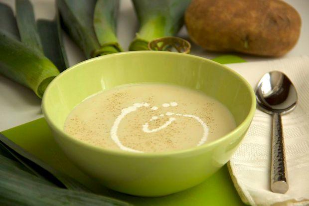 Creamy Leek Potato Soup