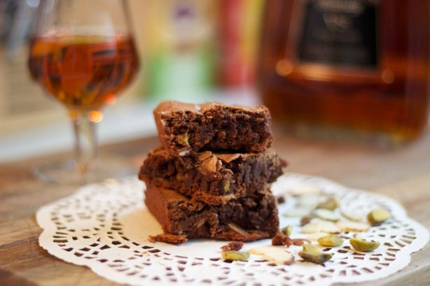 Brandy & Nuts Brownies