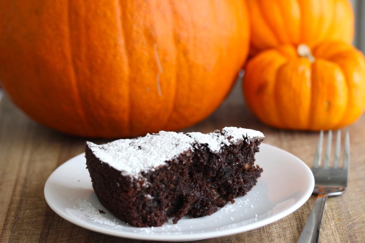 Torta Zucca E Cioccolato (Chocolate Pumpkin Cake)