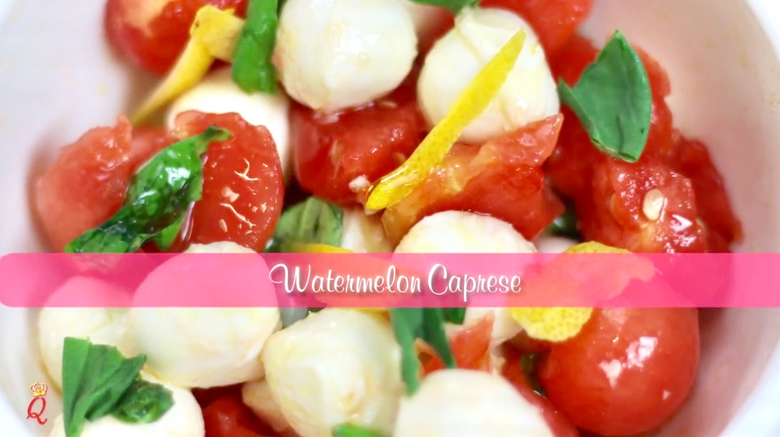 How To Make Watermelon Caprese